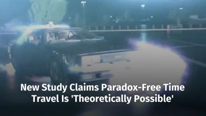 A Breakthrough In Time Travel Theory