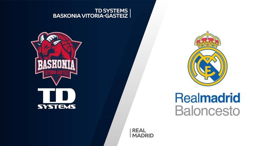 TD Systems Baskonia Vitoria-Gasteiz - Real Madrid Highlights | Turkish Airlines EuroLeague, RS Round 1