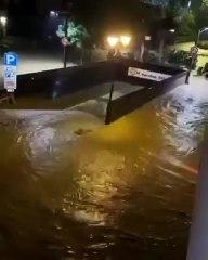 Situazione drammatica a Limone Piemonte, la località è completamente sott'acqua