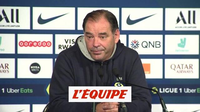 Moulin : « Le regret, c'est la balle du 2-3 » - Foot - L1 - Angers