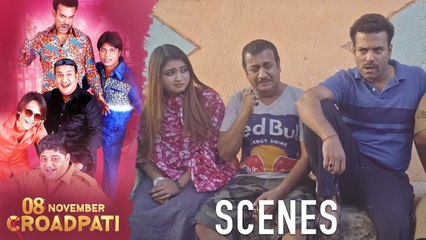 08 November Croadpati Movie Scenes | The box is robbed from the robbers | Silly Monks Deccan