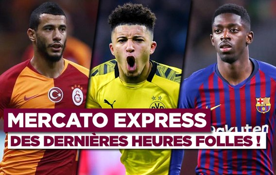 Mercato Express : ManU fonce sur Dembélé, Belhanda proche de Nice