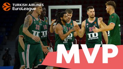 Round 1 MVP: Pierria Henry, TD Systems Baskonia Vitoria-Gasteiz