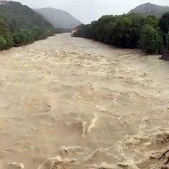 Maltempo, la furia dell'acqua a Borgosesia