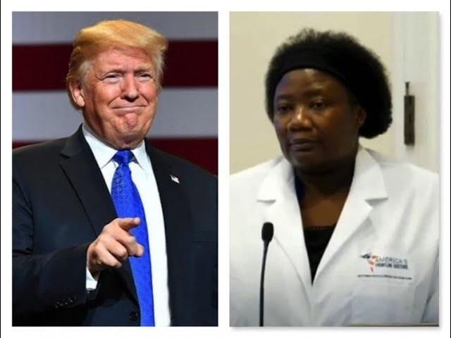 Why Trump contracted Coronavirus – HCQ Doctor Stella Immanuel | Moon TV news