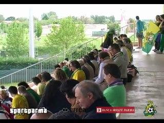 Correggese - Colorno 1-1, highlights e interviste