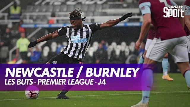 Les buts de Newcastle / Burnley