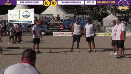L'équipe de France de ROBINEAU vs T MOLINAS : 64e International à pétanque de Bastia août 2020