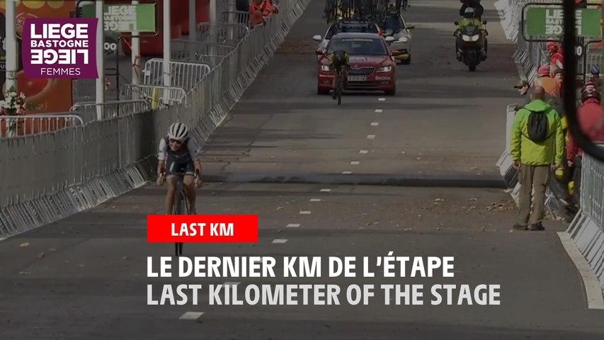 Flamme Rouge / Last Kilometer - Liège-Bastogne-Liège Femmes 2020