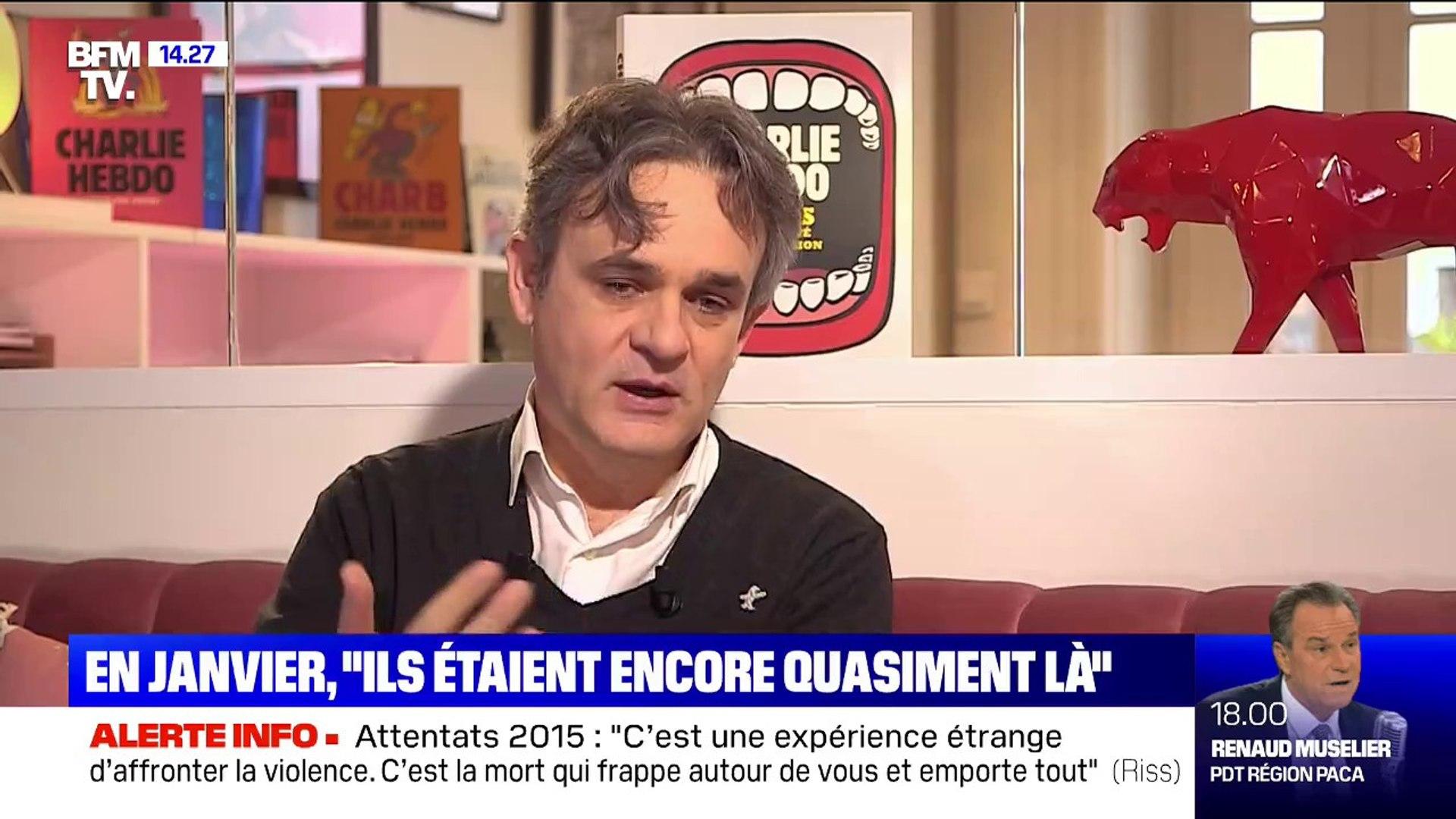 Riss Apres L Attentat De Charlie Hebdo Leur Absence Etait D Une Immense Violence Mais C Etait Comme S Ils Etaient Encore La Video Dailymotion