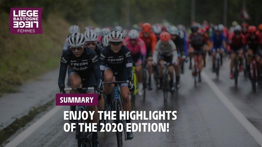 Highlights - Liège-Bastogne-Liège Femmes 2020