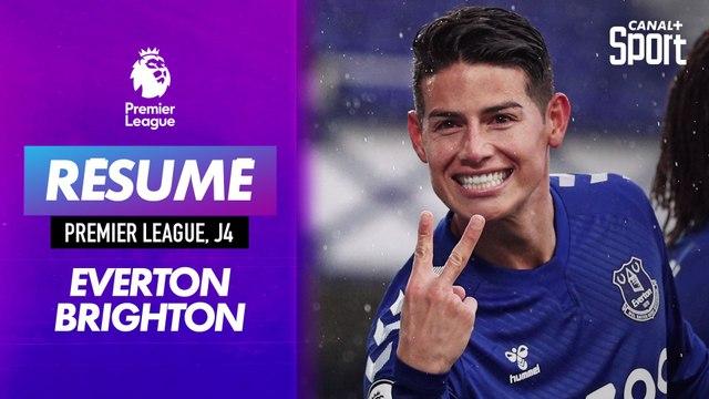 Le résumé d'Everton - Brighton en VO