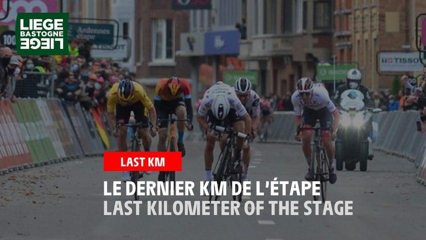 Flamme Rouge / Last Kilometer - Liège-Bastogne-Liège 2020
