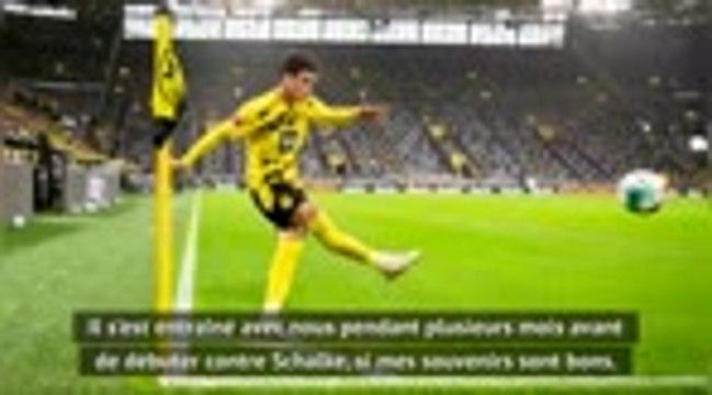 "Dortmund - Favre : ""Ne pas griller Reyna"""