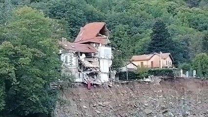 Village sinistré de Saint-Martin-Vésubie