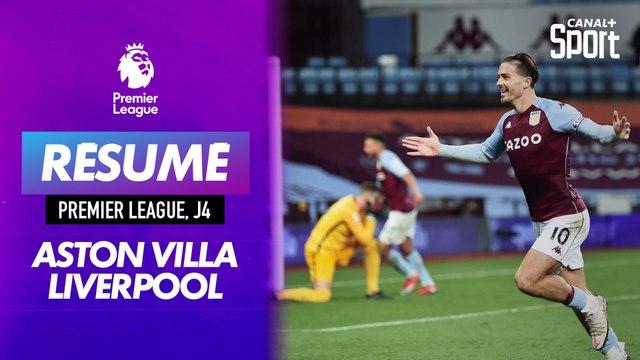 Le résumé d'Aston Villa - Liverpool en VO