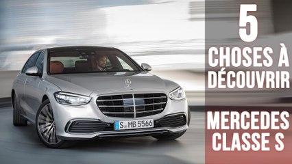 Mercedes Classe S,  5 choses à savoir sur le vaisseau amiral allemand