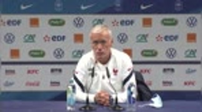 Bleus - Deschamps se remémore le France/Ukraine de 2013