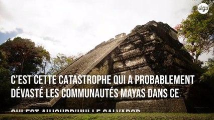 Une éruption volcanique serait à l'origine de la disparition d'une partie de la civilisation maya