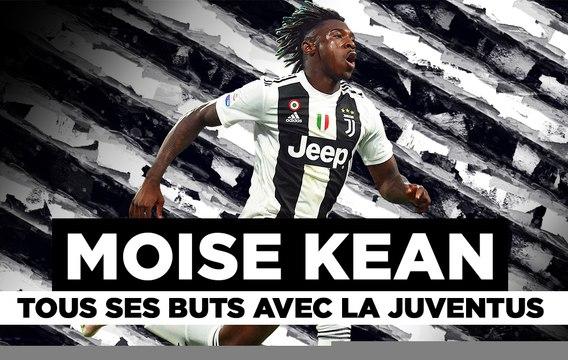 PSG : Découvrez Moise Kean avec ses buts avec la Juve !