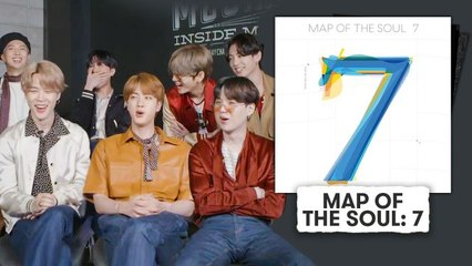 BTS Break Down Their Albums, From DARK & WILD to MAP OF THE SOUL : 7