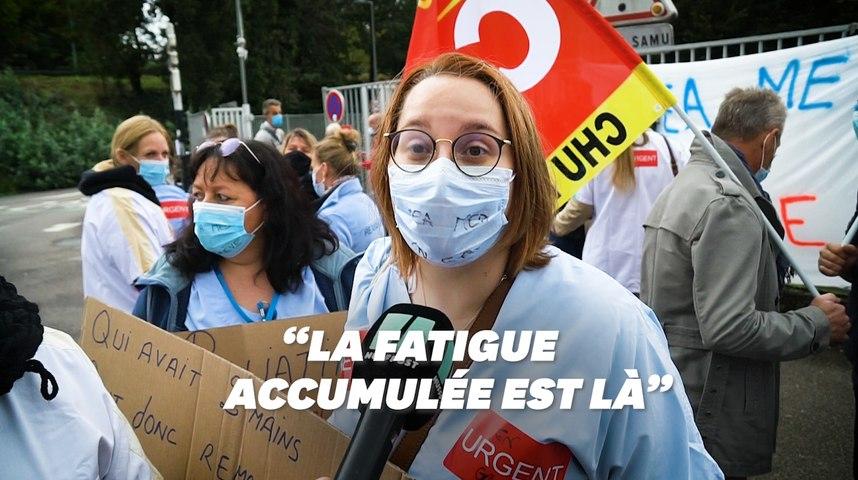 """À Rouen, la réanimation """"épuisée"""" face à la deuxième vague du Covid-19"""