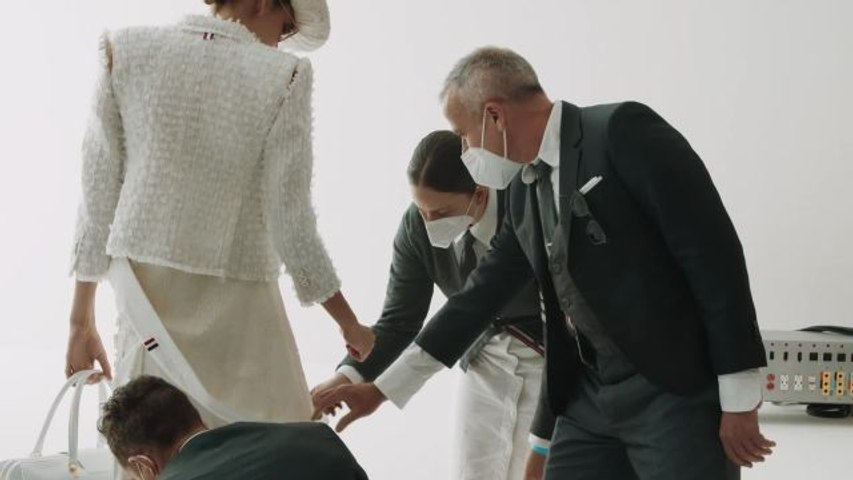 """The World Will Always Need Creativity""—Thom Browne Reflects on His Olympian Collection on Good Morning Vogue"