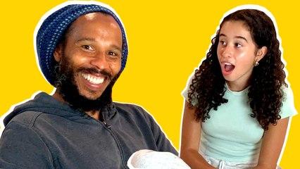 Trying My Daughter's Skincare Routine with Ziggy & Judah Marley | Kid Spa | Cosmopolitan