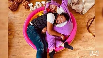 Amorosa foto de Kimberly Reyes con Orlando Liñán enamoró en redes sociales