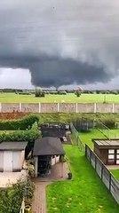 Raro evento in Belgio, tornado si forma a Ekeren