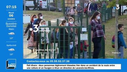 La matinale de France Bleu Creuse du 06/10/2020