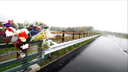 Flowers and tributes left in memory of Samson Price