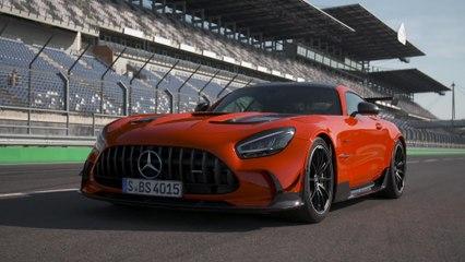 القمة المطلقة لعائلة GT: مرسيدس- AMG GT Black Series الجديدة