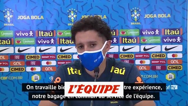 Marquinhos est «heureux de voir Neymar comme ça » - Foot - BRE