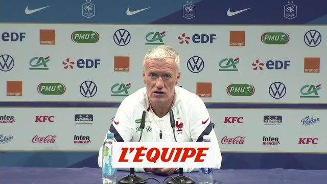 Deschamps : «Giroud a su miser sur ses points forts» - Foot - Bleus