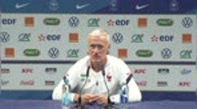 "Bleus - Deschamps rend hommage au ""centenaire"" Giroud"