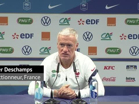 "Bleus - Deschamps : ""Camavinga aura beaucoup de lendemain"""
