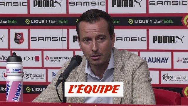 Stéphan : «Doku, un profil qu'on n'avait pas dans l'effectif» - Foot - L1 - Rennes