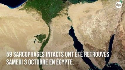 Les archéologues ont découvert 59 sarcophages en parfait état en Egypte