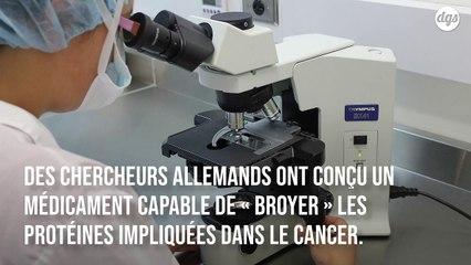 Ce médicament expérimental déchiquette les protéines à l'origine du cancer