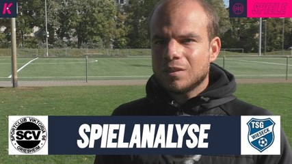 Die Spielanalyse | SC Viktoria Griesheim U19 - TSG Wieseck U19 (Hessenliga)