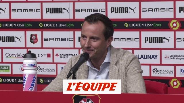 Stéphan : «Heureux que le mercato soit terminé» - Foot - L1 - Rennes
