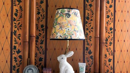 How to DIY a Decorative Paper Lampshade