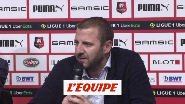 Maurice : «Un effectif homogène et équilibré» - Foot - L1 - Rennes