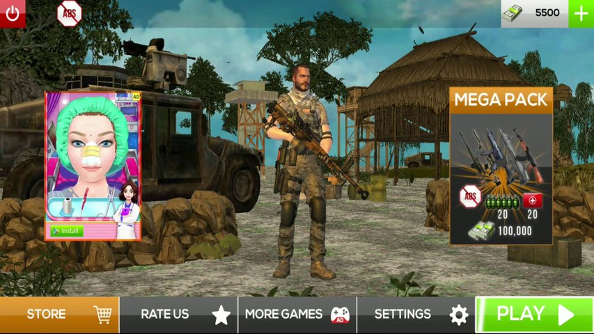 Mobile Game #3   Best Gaming Videos    Real Commando Secret Mission - Free Shooting Games   For Android