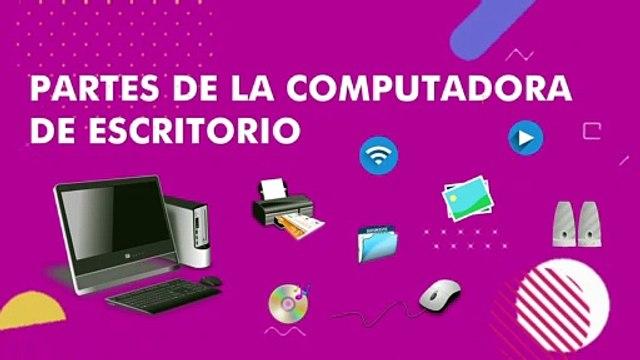 Partes de la Computadora para Niños   Computadora de Escritorio y sus Partes   Valentina Zoe