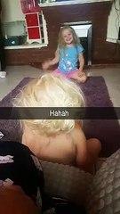 Kids Throws Bal At Her sis Head VID ID - VIDID