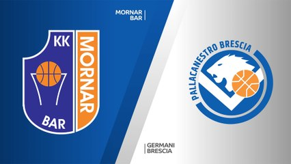 7Days EuroCup Highlights Regular Season, Round 3: Mornar 95-76 Brescia