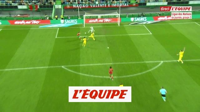 Les buts de Portugal-Suède - Foot - Ligue des nations