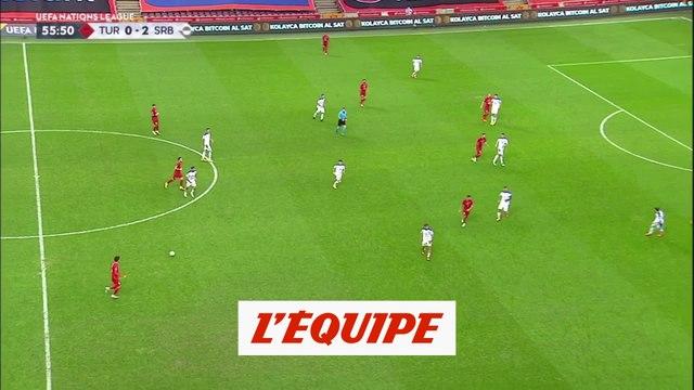 Les buts de Turquie-Serbie - Foot - Ligue des nations
